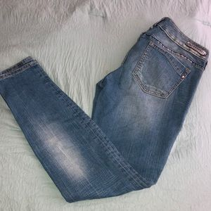 Woman's ultra skinny Express jeans